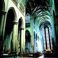 45x45 Collégiale Notre Dame et Saint Domitien © Ville de Huy